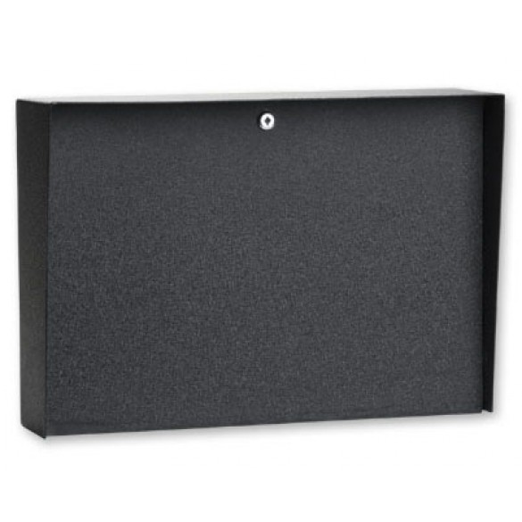 "Landscape Black Steel Housing (20"" W x 14"" H)"