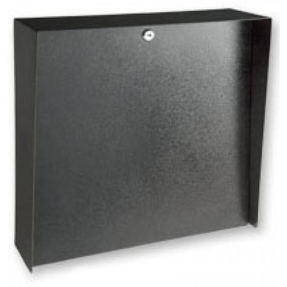 "Square Black Steel Housing (16"" W x 16"" H)"