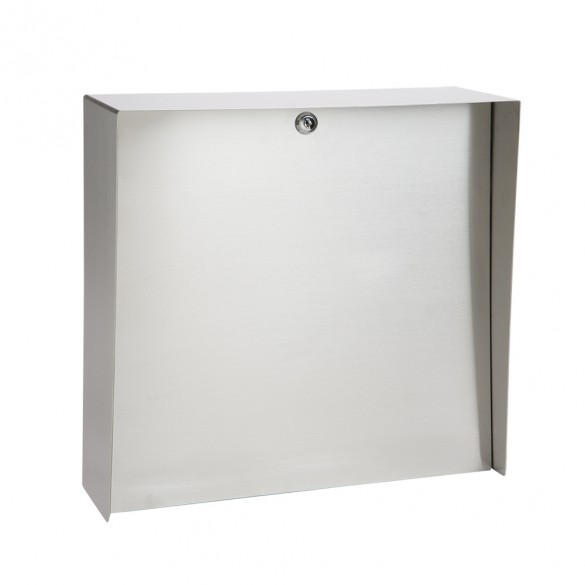 """Square Stainless Steel Housing (16"""" W x 16"""" H) MC-SS-16-E"""