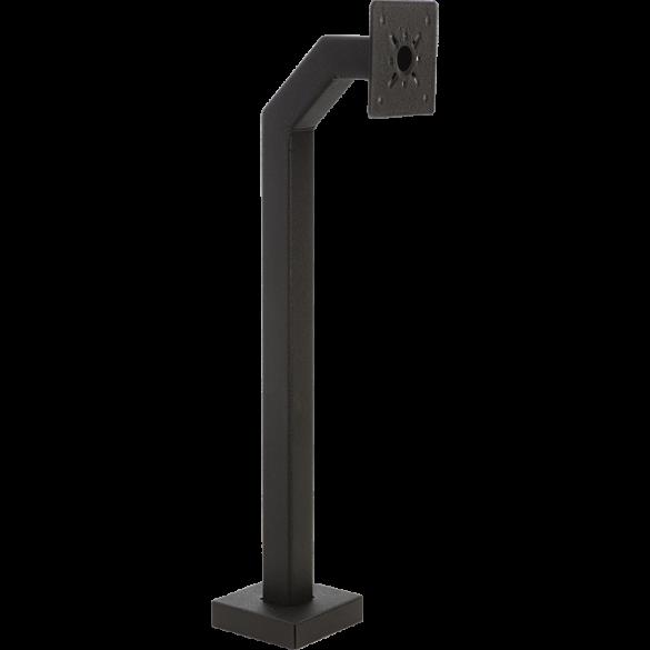 """44"""" Black Steel Gooseneck Pedestal (Pad Mount) MDS-100"""