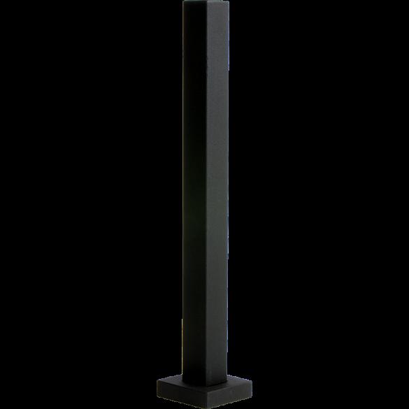 """48"""" Black Steel Tower Pedestal (Pad Mount)"""