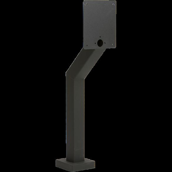 "44"" Black Steel Heavy Duty Architectural Style Pedestal (Pad Mount)"