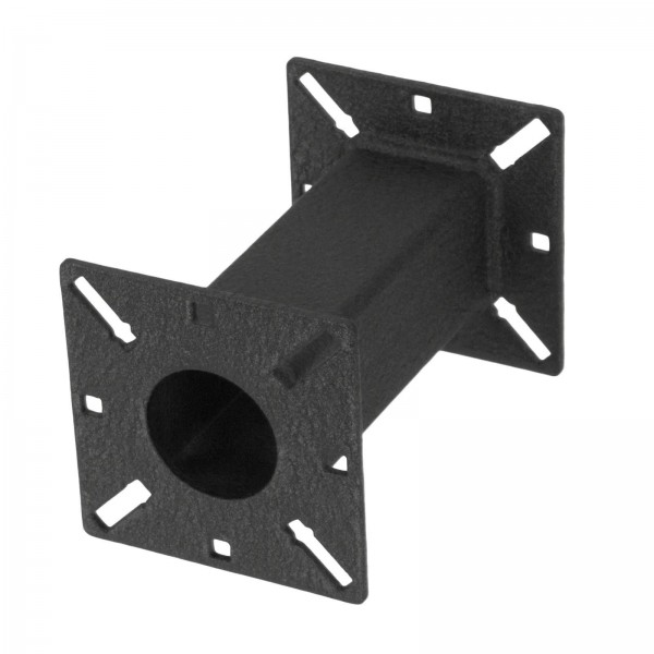 "6"" Black Steel Pedestal Extension 06-EXT-2"