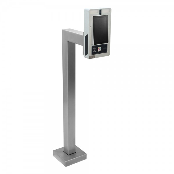 """45"""" Carbon Steel Standard Pedestal (Pad Mount) for ButterflyMX 7"""" Surface Mount 33PED-BUT-002-CRS"""