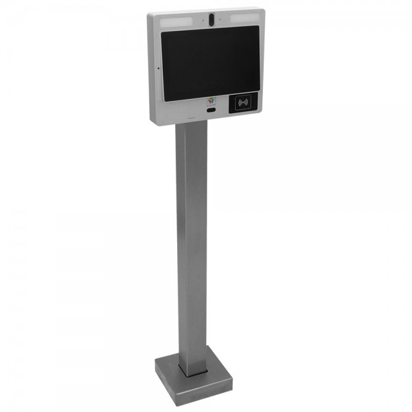 """44"""" Carbon Steel Low Profile Heavy Duty Pedestal (Pad Mount) for ButterflyMX 12"""" Surface Mount 33PED-BUT-003-CRS"""