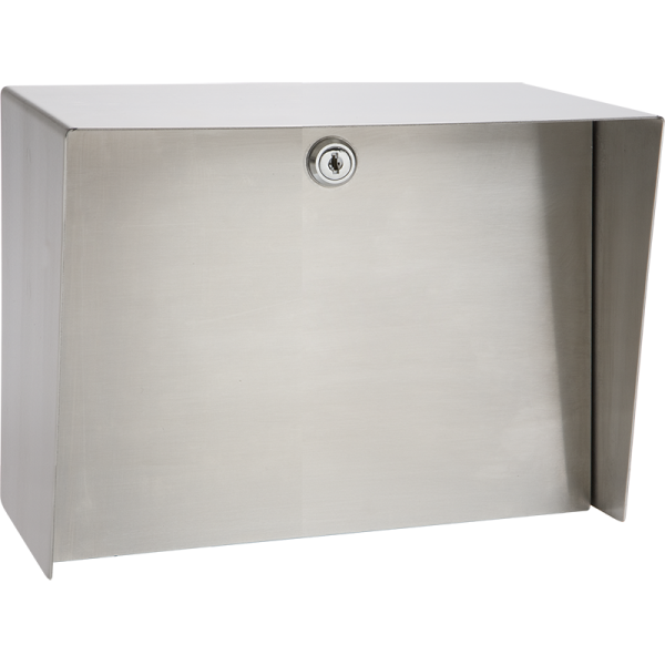 """Landscape Stainless Steel Housing (10"""" W x 8"""" H) Front"""