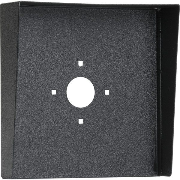 "Square Black Steel Hood (10"" W x 10"" H x 3"" D)"