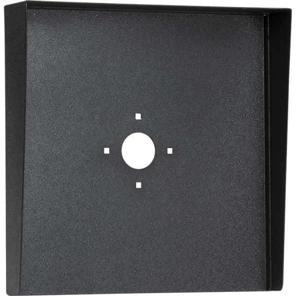"Square Black Steel Hood (14"" W x 14"" H x 3"" D)"