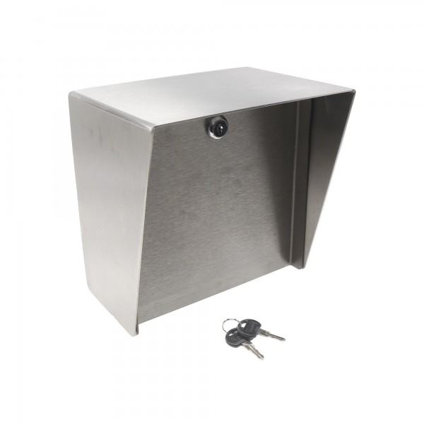 """Square Stainless Steel Housing (8"""" W x 8"""" H) MC-SS-08-E"""