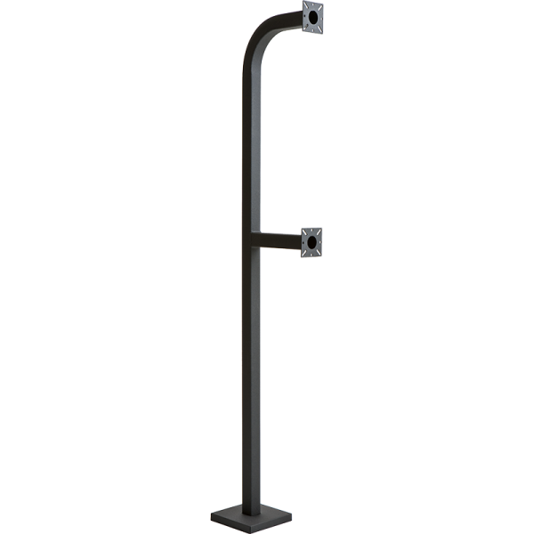 "72"" and 42"" Dual Height Gooseneck Pedestal"