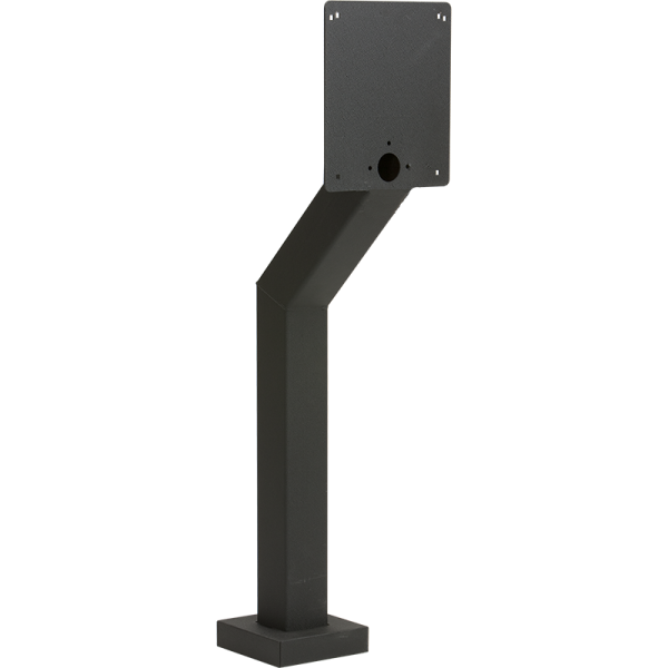 "44"" Black Steel Heavy Duty Architectural Style Pedestal (Pad Mount)"