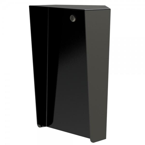 "Portrait Black Steel Corner Housing (8"" W x 14"" H) PORTRA-CS-8X14-45E"