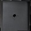 """Square Black Steel Hood (14"""" W x 14"""" H x 3"""" D)"""