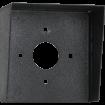 """Square Black Steel Hood (6"""" W x 6"""" H x 3"""" D)"""