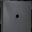 "Square Black Steel Hood (14"" W x 14"" H x 3"" D) Back"