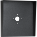 "Square Black Steel Hood (14"" W x 14"" H x 3"" D) HOOD-CS-14x14"