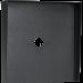 """Square Black Steel Hood (14"""" W x 14"""" H x 3"""" D) HOOD-CS-14x14"""