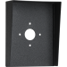 "Portrait Black Steel Hood (8"" W x 10"" H x 3"" D) HOOD-CS-8x10"